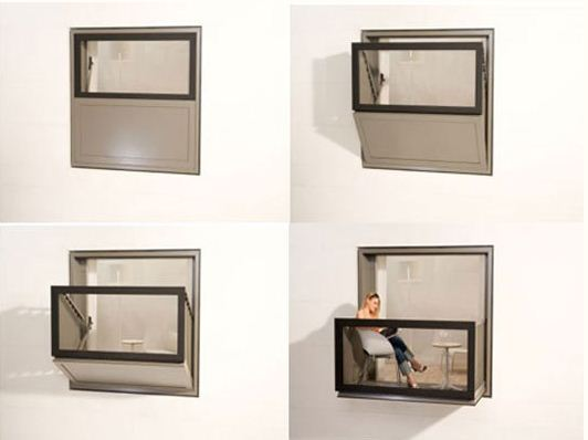 Μπαλκόνι για μικρούς χώρους - σχεδιαστική ιδέα