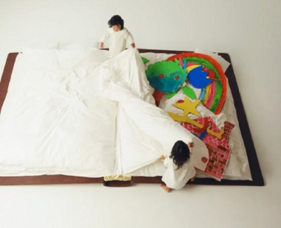 Αστείο βιβλίο κρεβάτι για παιδικά δωμάτια