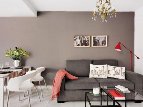 45 τετραγωνικά μέτρα διαμέρισμα  που φαίνεται μεγαλύτερο