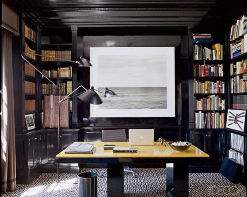 Ιδέες διακόσμησης δωματίου με μαύρο decor