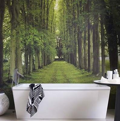 Όμορφες ιδέες με ταπετσαρίες για το μπάνιο σας