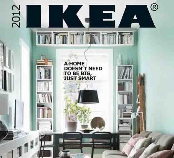 Ο νέος κατάλογος ΙΚΕΑ 2012
