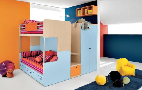 Διακοσμητικές ιδέες για μικρά παιδικά δωμάτια