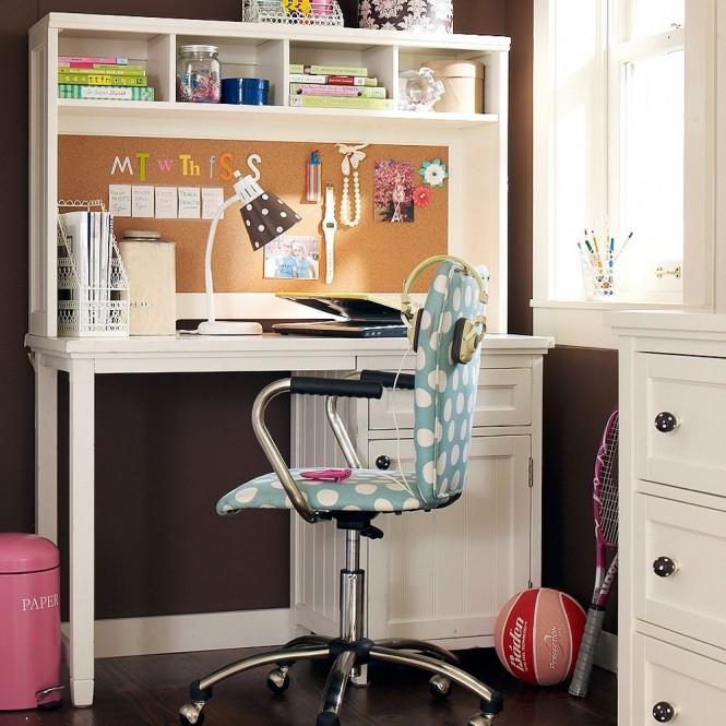 Εμπνευσμένοι χώροι μελέτης για νεανικά δωμάτια