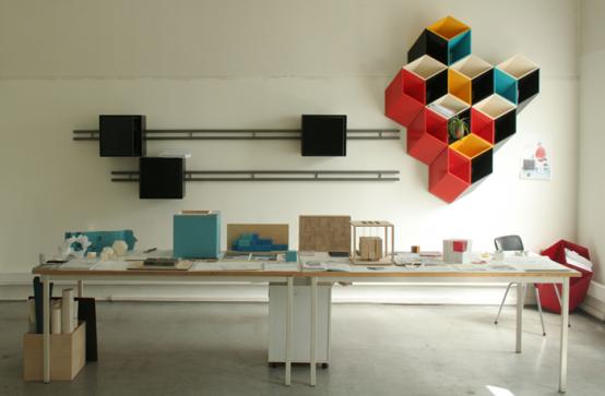 3D σύστημα αποθήκευσης τοίχου