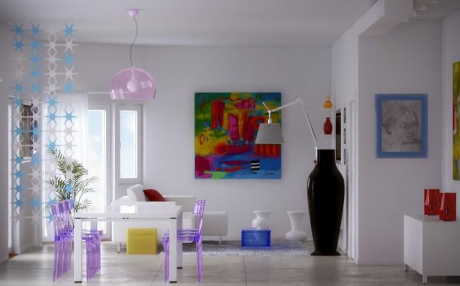Τολμηρές, καλλιτεχνικές προτάσεις εσωτερικού χώρου  απο την Pixel3D