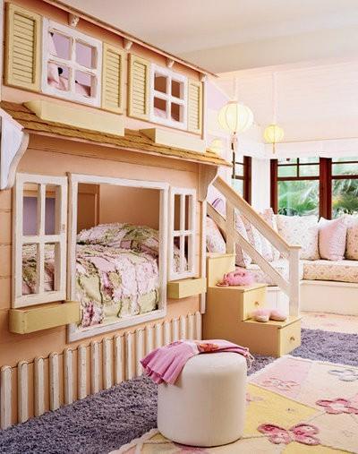 25 Διασκέδαστικές και χαριτωμένες ιδέες διακόσμησης παιδικού δωματίου