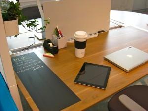 μαυροπίνακας στο γραφείο