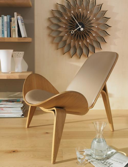 Ιδέες να συνδυάσετε φυσικό ξύλο με ατόφια χρώματα στα έπιπλα και εσωτερική διακόσμηση σας