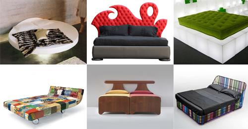 Σύγχρονα και δημιουργικά σχέδια Κρεβατιού