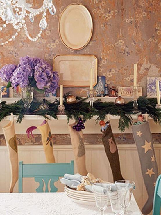 Γοητεία από vintage Χριστούγεννα - Συναρπαστικές ιδέες