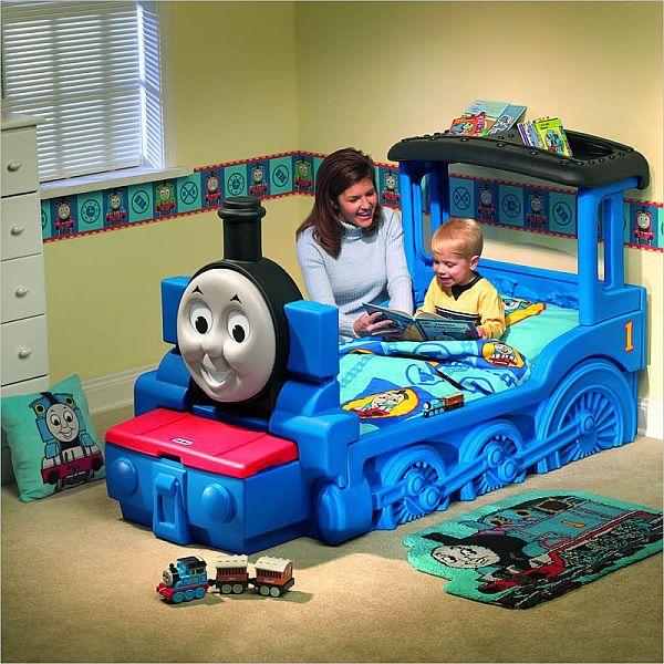 Το φιλικό Thomas & Friends κρεβάτι τρένο για παιδιά