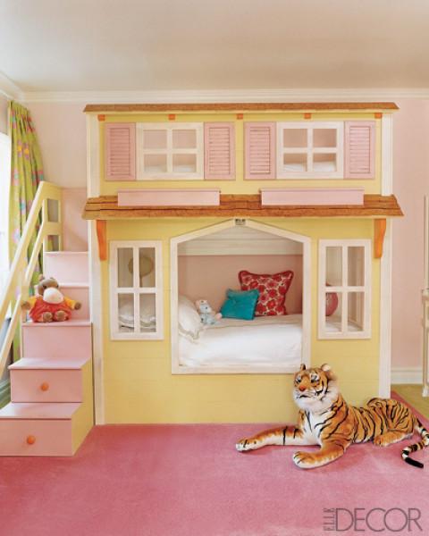 33 Υπέροχες Ιδέες Σχεδιασμού για κοριτσίστικα δωμάτια