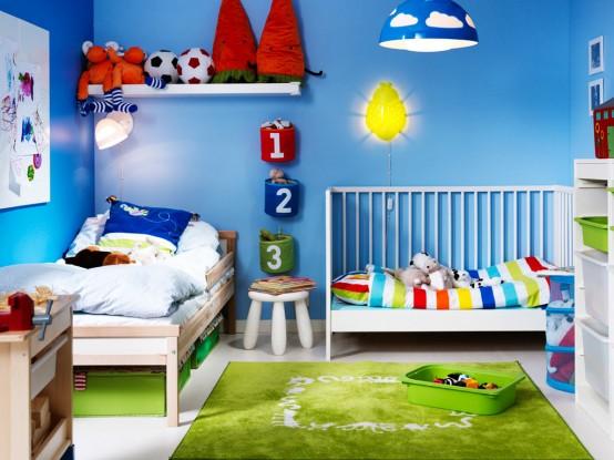 33 Θαυμάσιες ιδέες για κοινά παιδικά δωμάτια