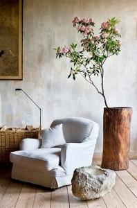 ιδέες διακόσμησης με κορμούς και κούτσουρα δέντρου9
