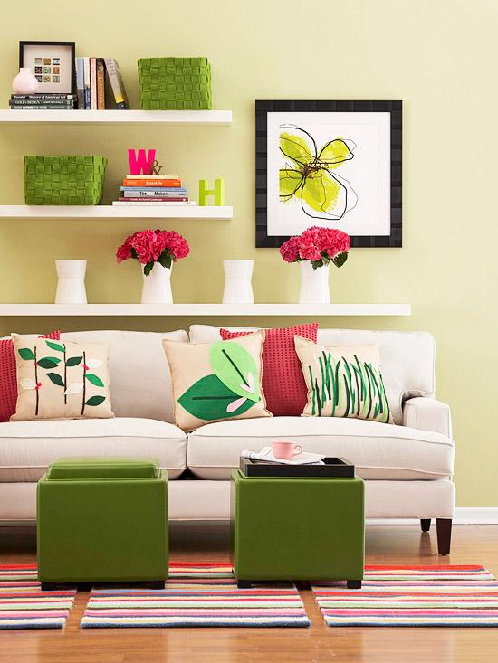 Σχεδιαστικές ιδέες για να διακοσμήσετε το σπίτι σας την άνοιξη