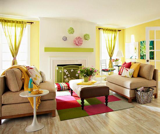 Πριν και Μετά: Φρέσκιες αλλαγές στο σαλόνι σας για την άνοιξη