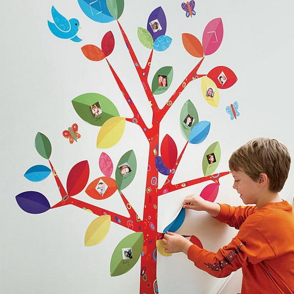 Ιδέες με οικογενειακά δέντρα που μπορείτε να δημιουργήσετε στον τοίχο σας
