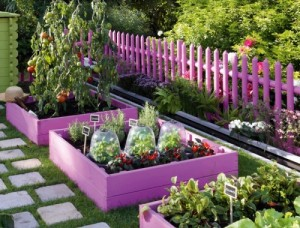 κοριτσίστικος κήπος