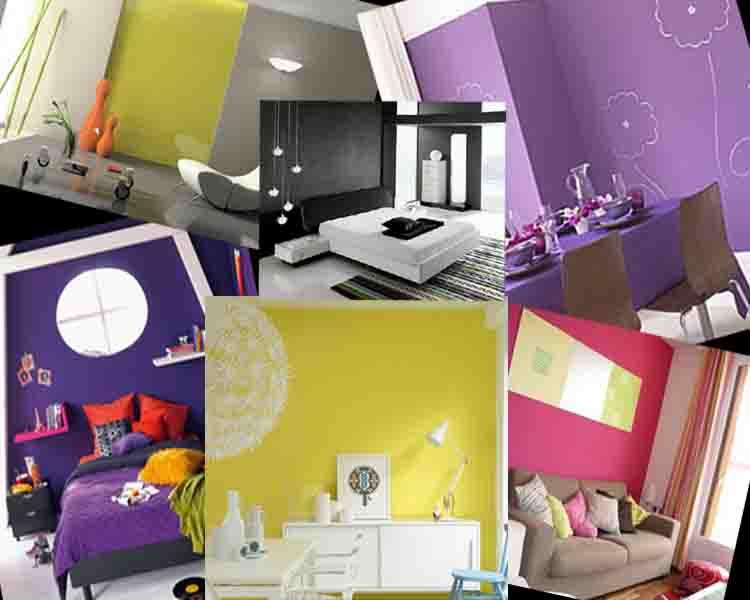 Μοντέρνα Χρώματα βαψίματος τοίχου για όλες τις μορφές διακόσμησης