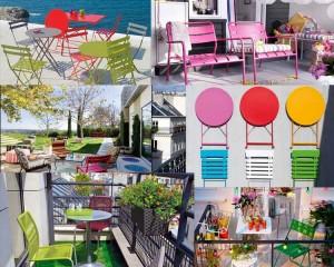 Ιδέες με Πολύχρωμες  Εξωτερικές Καρέκλες11
