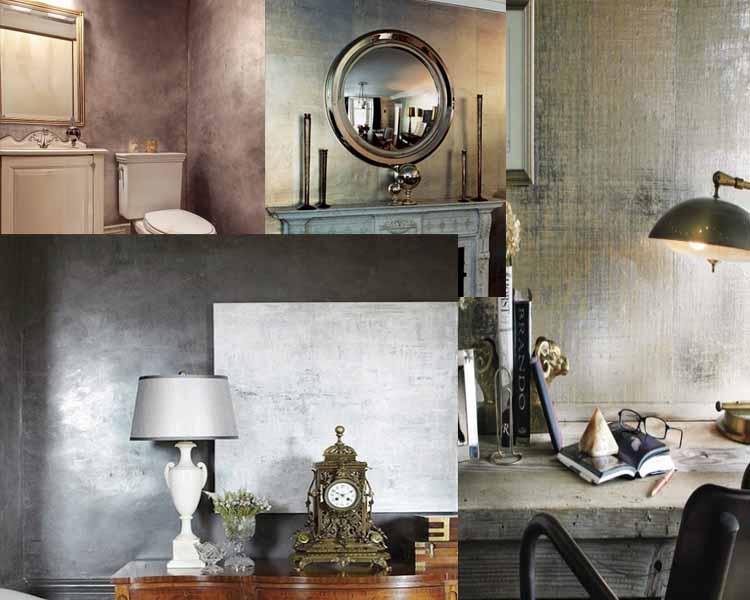 20  ιδέες για να κάνετε τους τοίχους σας μεταλλικούς και γυαλιστερούς