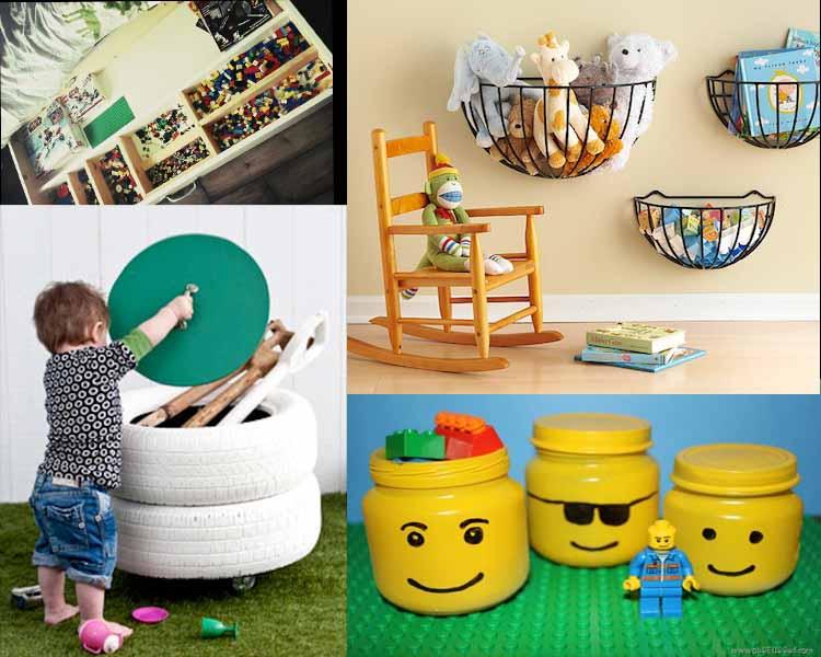 Πρακτικές και έξυπνες ιδέες αποθήκευσης για τα παιχνίδια των παιδιών σας