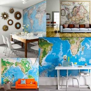 Ιδέες με χάρτες ταπετσαρία15