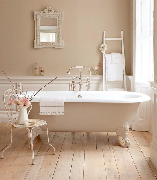 Ήρεμες και χαλαρωτικές Μπεζ Ιδέες σχεδιασμού για μπάνιο