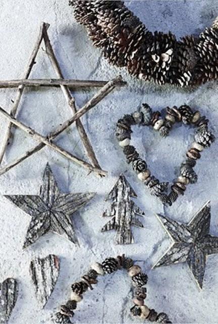 35 Ρουστίκ Χριστουγεννιάτικής ιδέες διακόσμησης