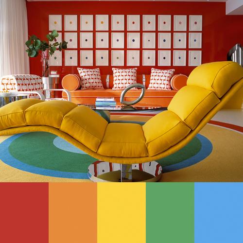 Καταπληκτικές πολύχρωμες διακοσμήσεις με έντονα χρώματα