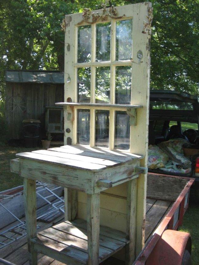 Ανακύκλωση παλιάς πόρτας1