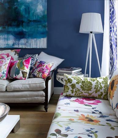 Ονειρικές Ιδέες σχεδιασμού για πολύχρωμα σαλόνια10