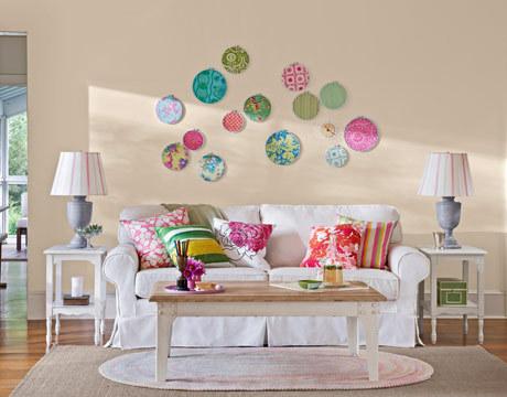 Ονειρικές Ιδέες σχεδιασμού για πολύχρωμα σαλόνια2