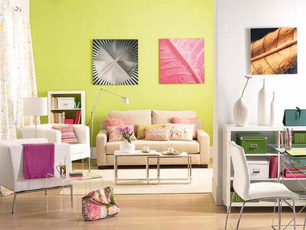 Ονειρικές Ιδέες σχεδιασμού για πολύχρωμα σαλόνια23