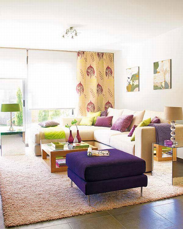 Ονειρικές Ιδέες σχεδιασμού για πολύχρωμα σαλόνια24