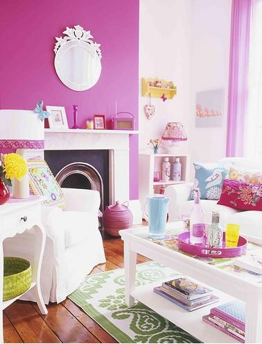 Ονειρικές Ιδέες σχεδιασμού για πολύχρωμα σαλόνια4