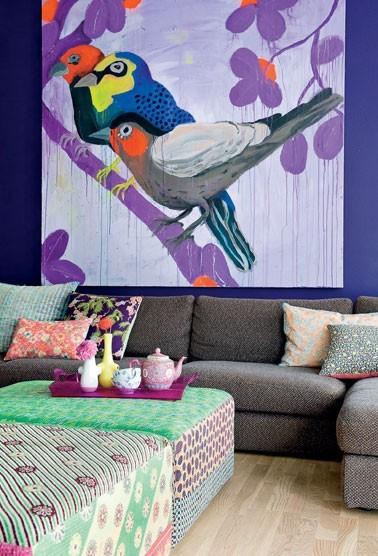 Ονειρικές Ιδέες σχεδιασμού για πολύχρωμα σαλόνια5