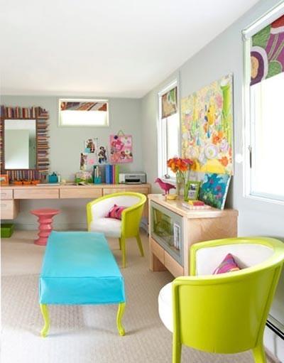 Ονειρικές Ιδέες σχεδιασμού για πολύχρωμα σαλόνια6