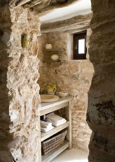 ιδέες σχεδιασμού μπάνιου από φυσική πέτρα14