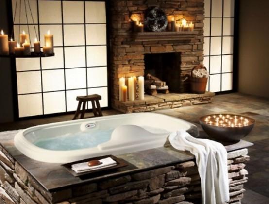 ιδέες σχεδιασμού μπάνιου από φυσική πέτρα17