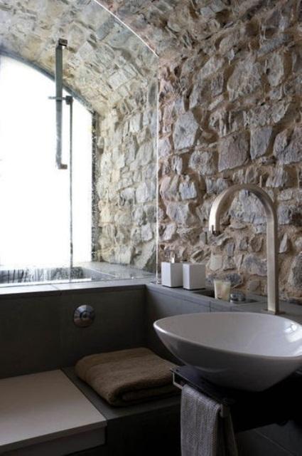 ιδέες σχεδιασμού μπάνιου από φυσική πέτρα22