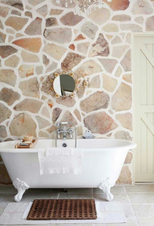 ιδέες σχεδιασμού μπάνιου από φυσική πέτρα23