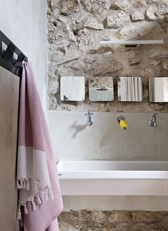 ιδέες σχεδιασμού μπάνιου από φυσική πέτρα25