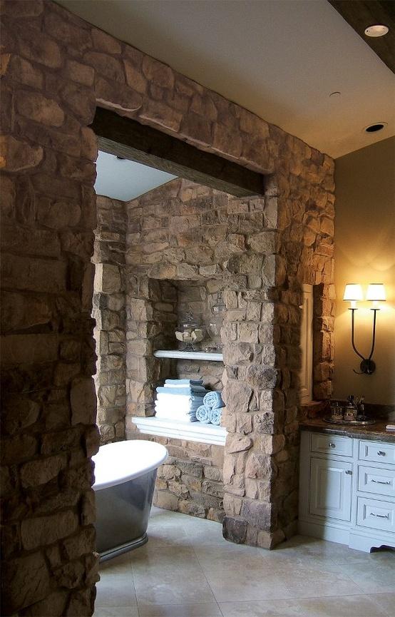 ιδέες σχεδιασμού μπάνιου από φυσική πέτρα26