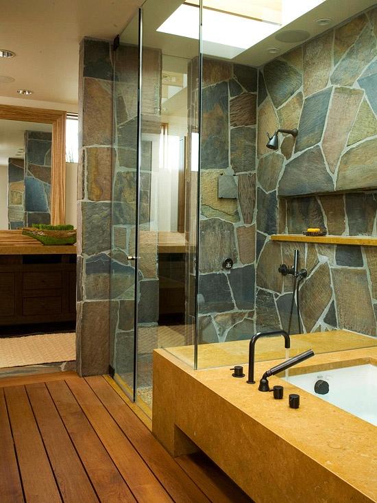 ιδέες σχεδιασμού μπάνιου από φυσική πέτρα29