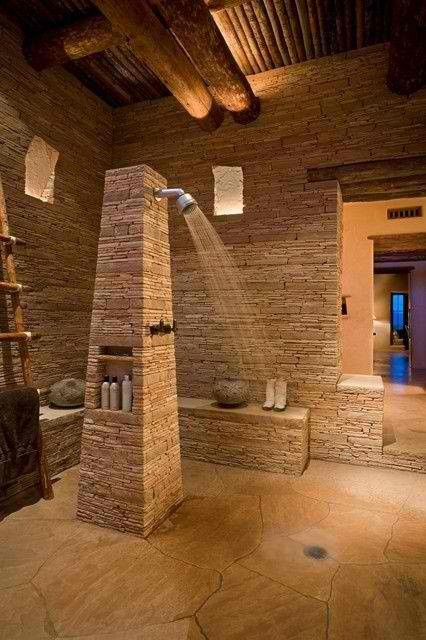ιδέες σχεδιασμού μπάνιου από φυσική πέτρα30