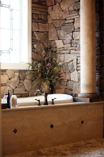ιδέες σχεδιασμού μπάνιου από φυσική πέτρα31