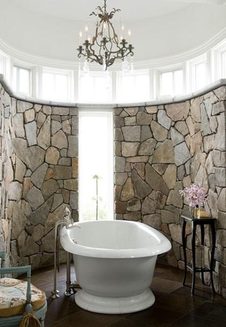 ιδέες σχεδιασμού μπάνιου από φυσική πέτρα34
