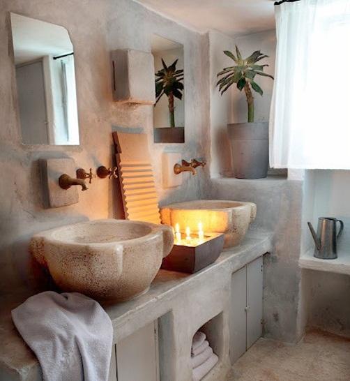 ιδέες σχεδιασμού μπάνιου από φυσική πέτρα4